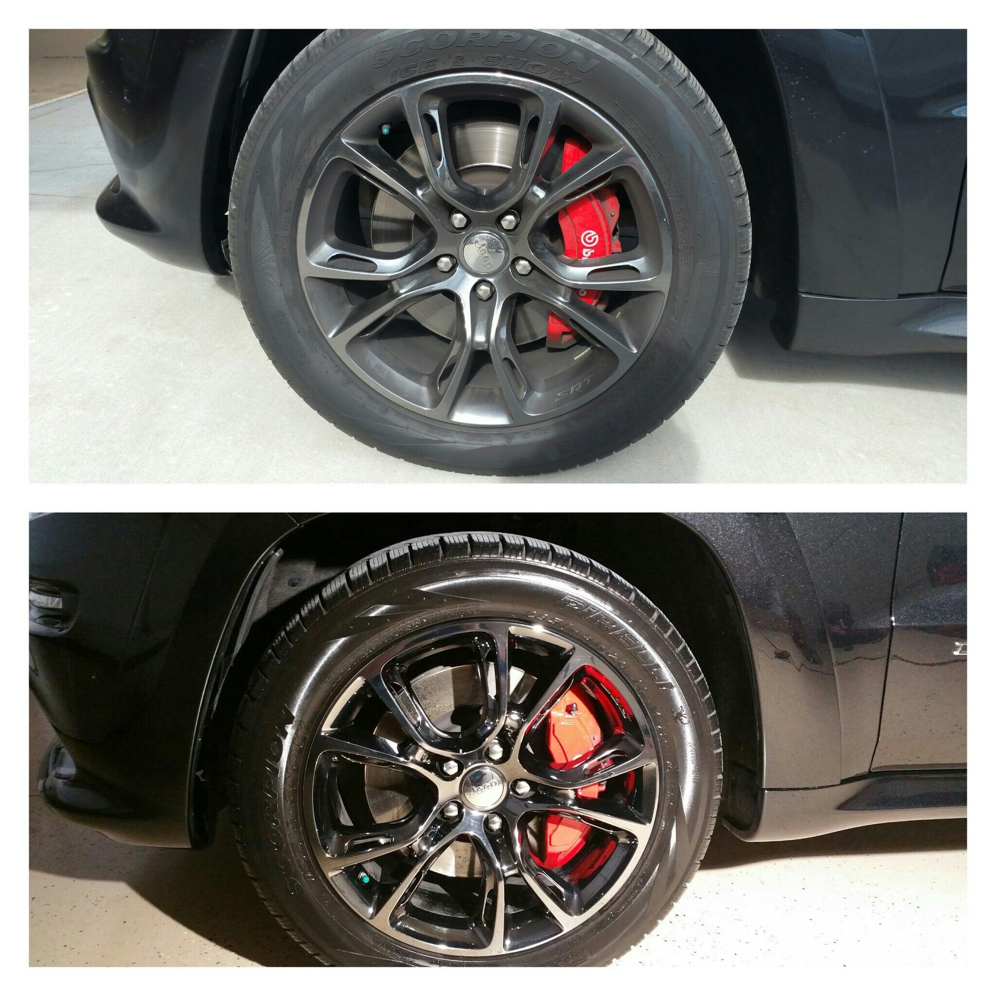 Red Beard's Garage Car Rims Detail