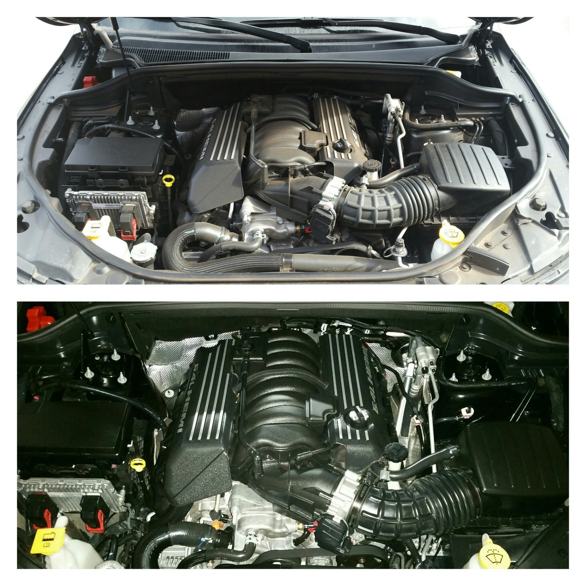 Red Beard's Garage Engine Detail Clean